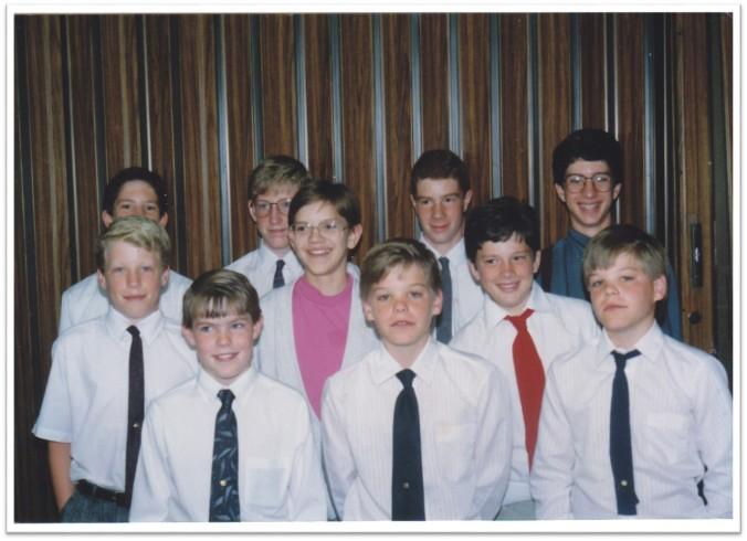 Ankeny Ward Aaronic Priesthood 1991