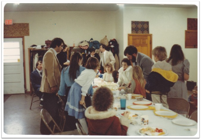 First Branch Bday Party Legion Hall 1984