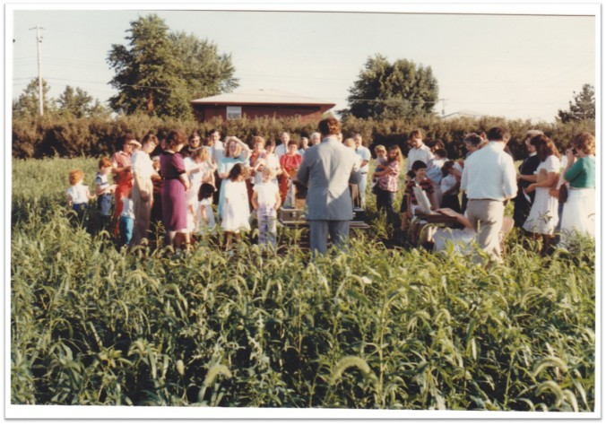 New Bldg Groundbreaking-July 1984