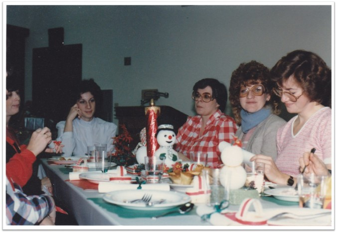 Relief Society Christmas Party 1985